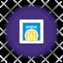 Mdomain Registration Icon