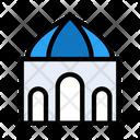 Dome Mosque Building Icon