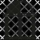 Dome Temple Architecture Icon