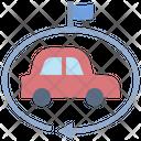 Leasing Domestic Car Icon