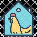 Domestic Hen Animal Icon