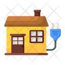 Domestic Electricity House Electricity Electrical Wiring Icon