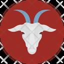 Domestic Goat Animal Capricorn Icon