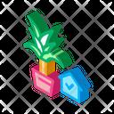 Domestic Plant Icon