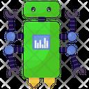 Domestic Robot Robot Household Robot Icon