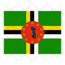 Dominica Flag Flags Icon