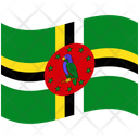 Flag Country Dominica Icon