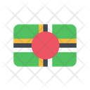Dominica Flag Country Icon