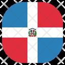Dominican Republic Country Icon