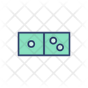 Domino Domino Pieces Game Equipment Icon