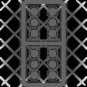 Domino Casino Poker Icon
