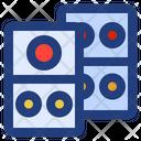 Domino Gambling Entertainment Icon