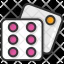 Dominos Game Gambling Icon