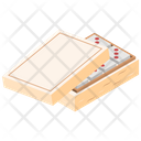 Dominoes Table Game Casino Icon