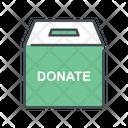 Donate Donation Box Box Icon