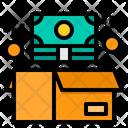 Donate Money Box Icon