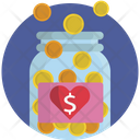 Hand Money Coins Icon