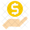 Donate Investment Payment Icon