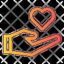 Hand Love Charity Icon