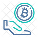 Donate Bitcoin Icon