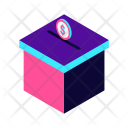 Donate Donation Isometric Icon