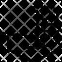Bitcoin Blockchain Cryptocurrency Icon