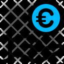 Donate Charity Euro Icon