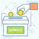 Charity Donation Savings Icon
