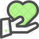 Giving Give Heart Icon
