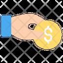 Coin Donation Financial Icon