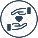 Charity Safe Hands Icon