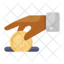 Contribution Donation Offering Icon