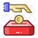 Alms Donation Charity Icon