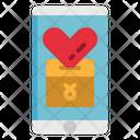 Donation App Charity Icon