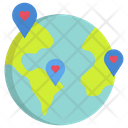 Donation Charity Location Charity Location Donation Icon