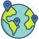 Donation Charity Location Icon