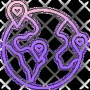 Donation Charity Location Icon