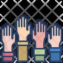 Donation Hand Icon