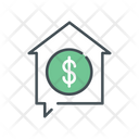 Donation House Icon