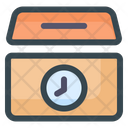 Donation Time Charity Time Donation Icon