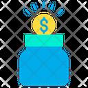 Donations Fund Fund Jar Icon