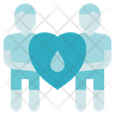 Blood Donation Medical Donators Icon