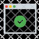 Done Checkmark Window Icon