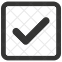 Approved Checkmark Comeplete Icon