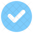 Done Circle Symbol Icon