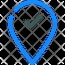 Done Location Icon