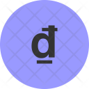 Dong Currency Vnd Icon