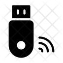 Usb Signal Internet Icon