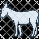 Donkey Burro Mule Icon