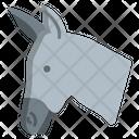 Donkey Animal Zoo Icon